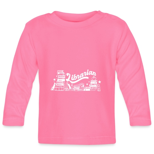 0323 Funny design Librarian Librarian - Baby Long Sleeve T-Shirt