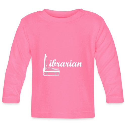 0325 Librarian Librarian Cool design - Baby Long Sleeve T-Shirt