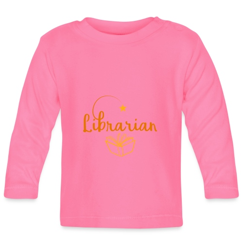 0327 Librarian Librarian Library Book - Baby Long Sleeve T-Shirt