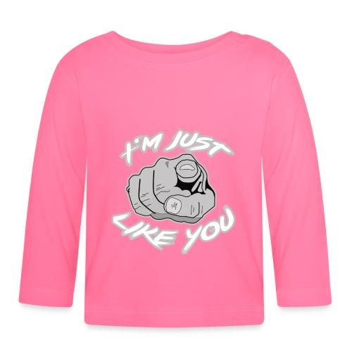 Iam just like you - Finger - Baby Langarmshirt