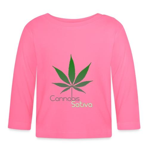 Cannabis Sativa CBD - Baby Langarmshirt