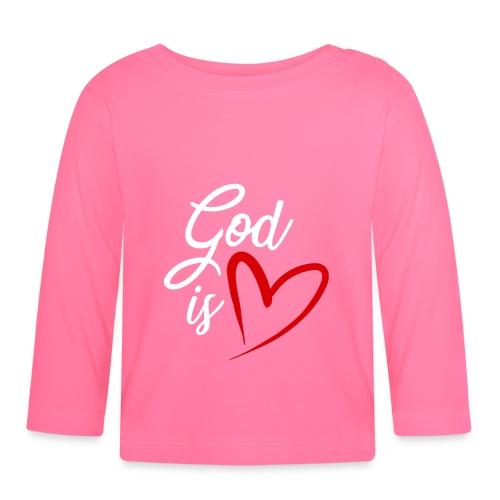 God is love 2B - Maglietta a manica lunga per bambini