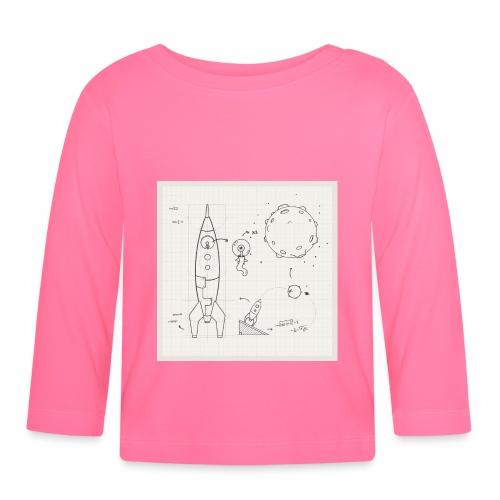 ufo schema - T-shirt manches longues Bébé