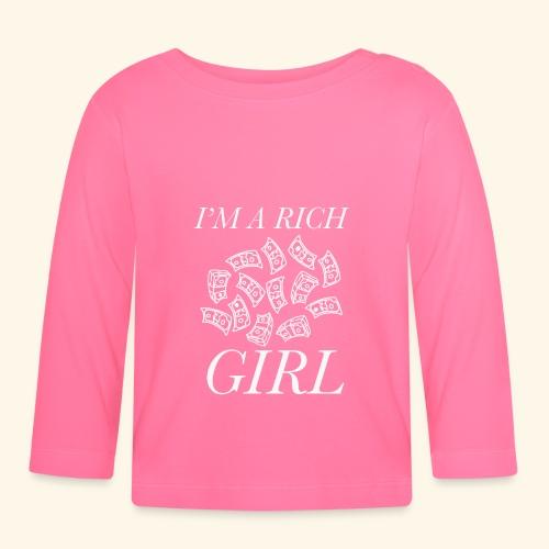 powerful I'm a rich girl T-shirt - Maglietta a manica lunga per bambini