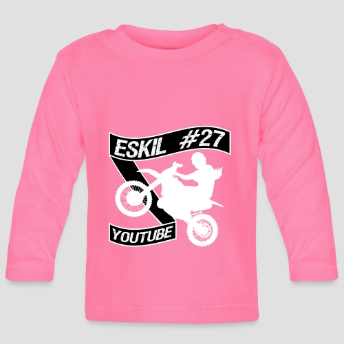 Eskil 27 Snaxy youtube - Långärmad T-shirt baby