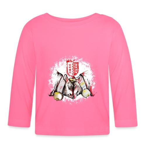 Vache d'hérens Eringer valais - T-shirt manches longues Bébé