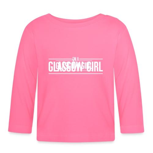 Glasgow Girl t-shirt - Baby Long Sleeve T-Shirt