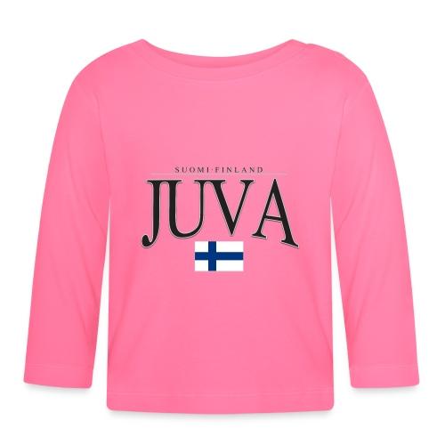 Suomipaita - Juva Suomi Finland - Vauvan pitkähihainen paita