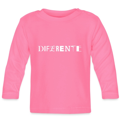 Diferente - Camiseta manga larga bebé