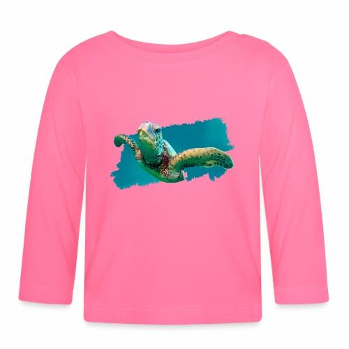 Tortuga Marinas - Camiseta manga larga bebé