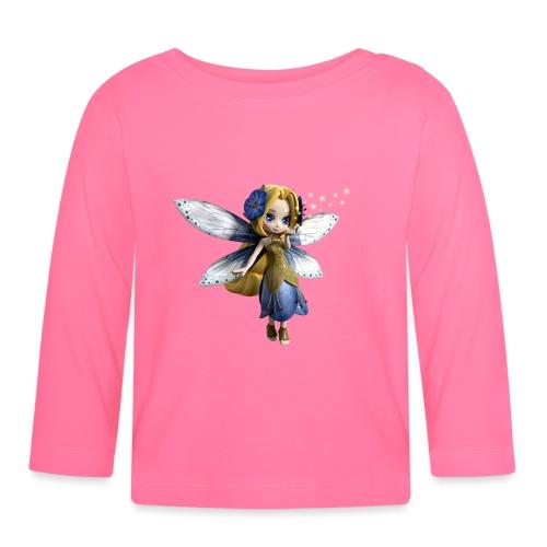 Blue-Sternchen Fairy - Baby Langarmshirt