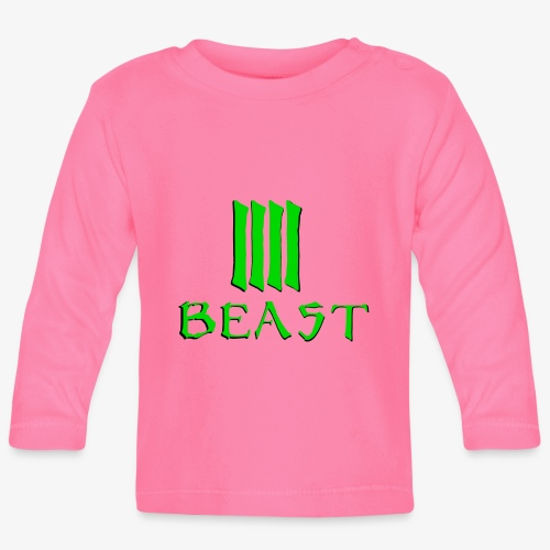 Beast Green - Baby Long Sleeve T-Shirt
