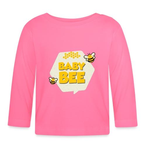 Baby Bee Mutter und Kind Bienen Partnerlook - Baby Langarmshirt