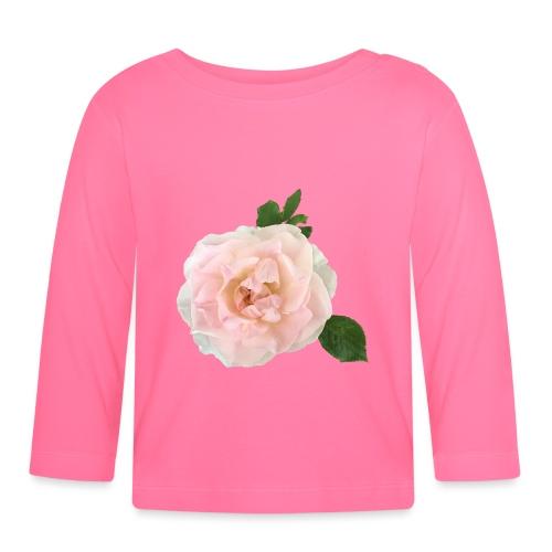 Ruusu Morden Blush - Vauvan pitkähihainen paita