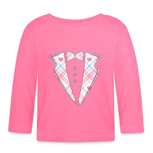 bébé costume rose Cadeau - T-shirt manches longues Bébé
