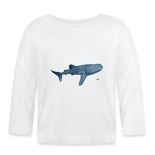 Walhai - Baby Langarmshirt