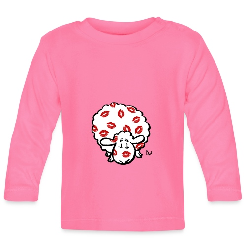 Kiss Ewe - Maglietta a manica lunga per bambini