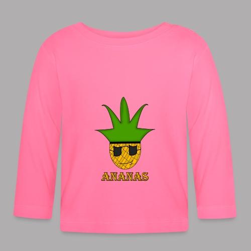 ananas png - T-shirt manches longues Bébé