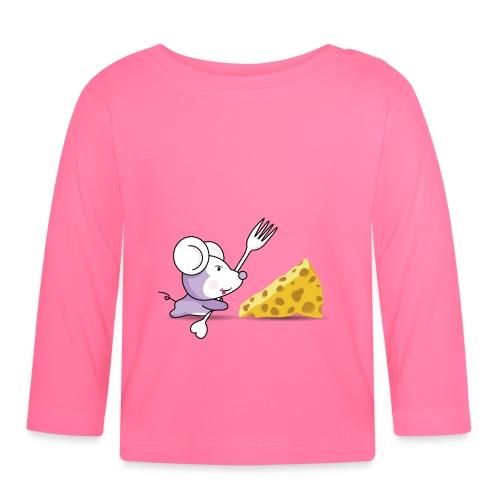 ratonyqueso - Camiseta manga larga bebé