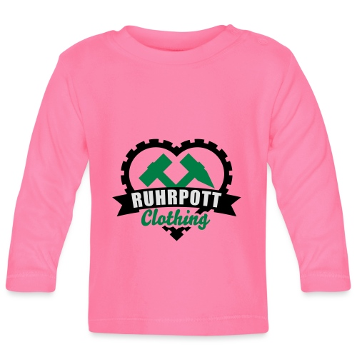 ruhrpott clothing 3c - Baby Langarmshirt