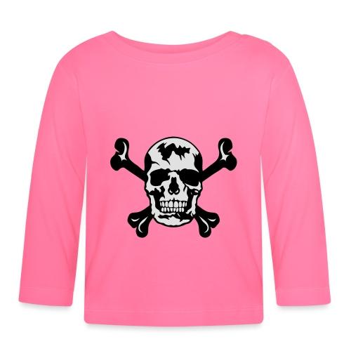 tete de mort os squelette 2901 - T-shirt manches longues Bébé