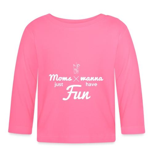 Sweat pour Maman Fun - T-shirt manches longues Bébé