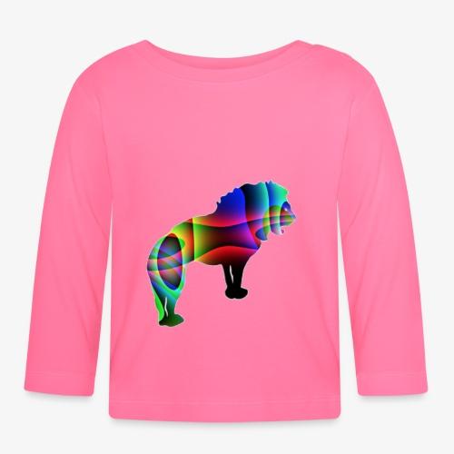 der Löwe hat die Stärke - T-shirt manches longues Bébé