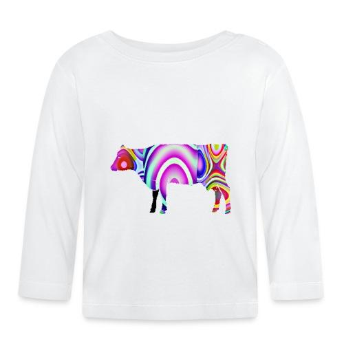 La vache - T-shirt manches longues Bébé