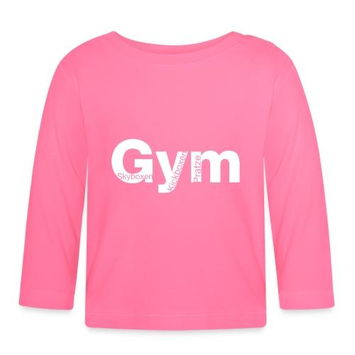 Gym weiß - Baby Langarmshirt