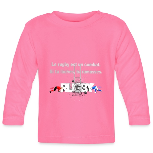 RUGBY COMBAT - T-shirt manches longues Bébé