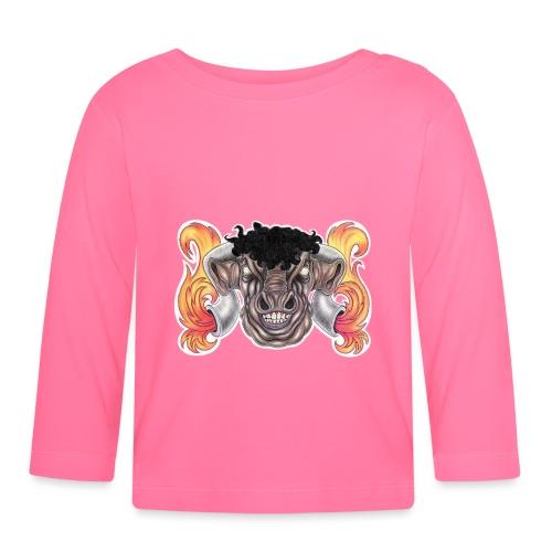 Taurus The Bull God - Baby Long Sleeve T-Shirt