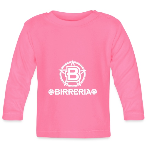 Logo Birreria 2021 white - Baby Langarmshirt