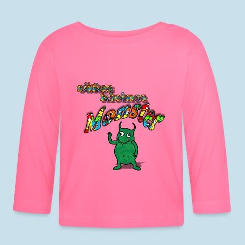 Süßes kleines Monster - Baby Langarmshirt
