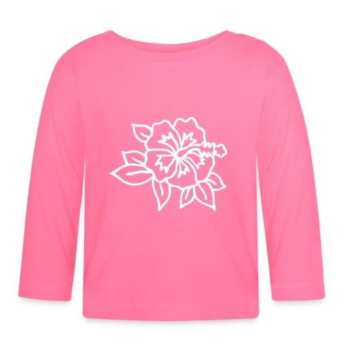 hibiskus - Baby Langarmshirt