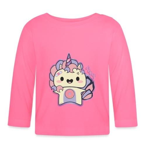 Neon Unicorn - Camiseta manga larga bebé