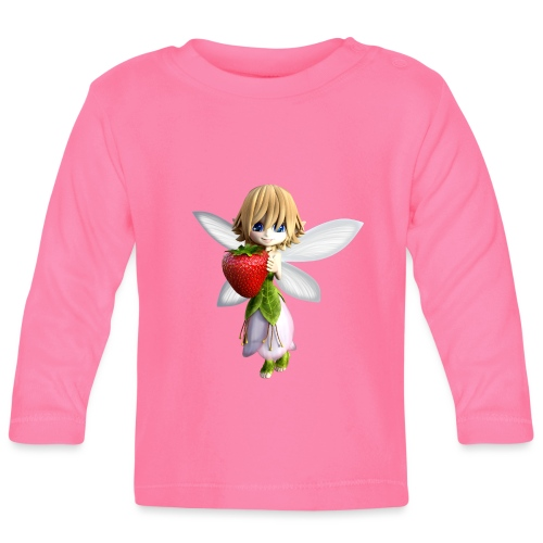 Strawberry - Fairy - Baby Langarmshirt