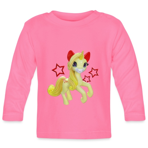 Einhorn in Fairyland - Baby Langarmshirt