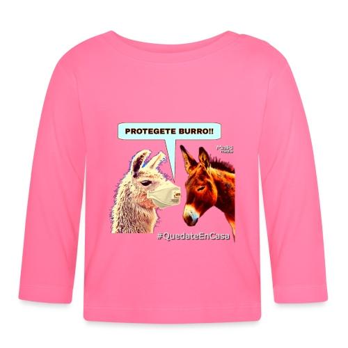PROTEGETE BURRO - Baby Long Sleeve T-Shirt