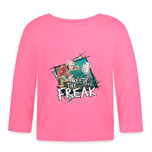 meet the freak - Baby Langarmshirt