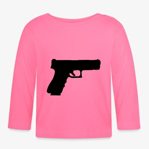 Pistol 88 C2 - Glock 17 Gen.3 - Långärmad T-shirt baby