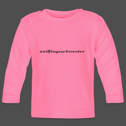 twin sister - Baby Long Sleeve T-Shirt