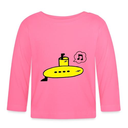 Singing Yellow Submarine - Baby Long Sleeve T-Shirt