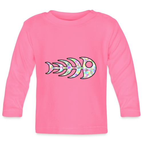 fish legs in rainbow colors - Baby Long Sleeve T-Shirt