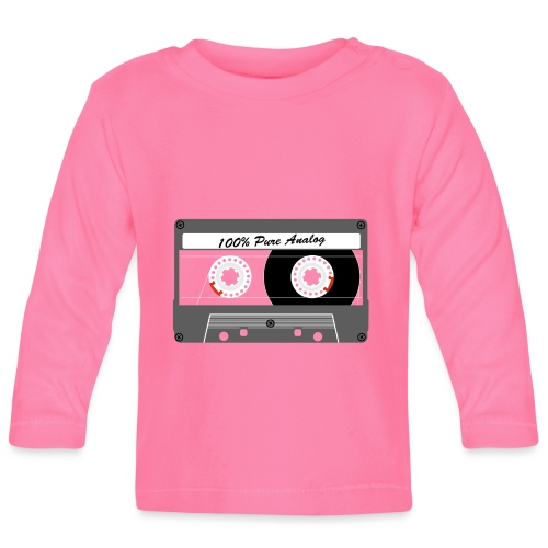 Cassette Pure Analog - Baby Long Sleeve T-Shirt