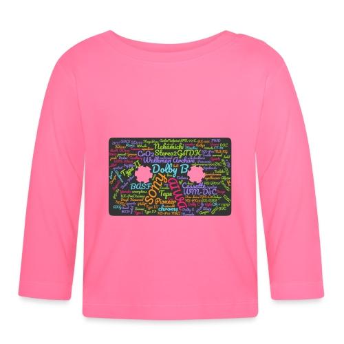 wordcloud Cassettes- WA - Baby Long Sleeve T-Shirt