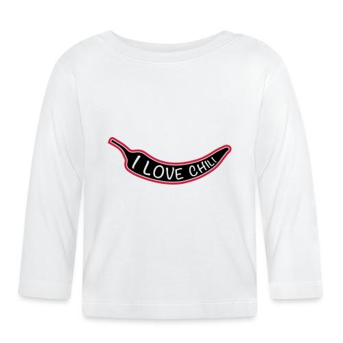 I love chili - Vauvan pitkähihainen paita