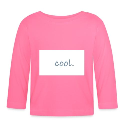 cool - Baby Langarmshirt