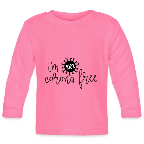 Ik ben coronavirus vrij. Stop de coronavirus - T-shirt