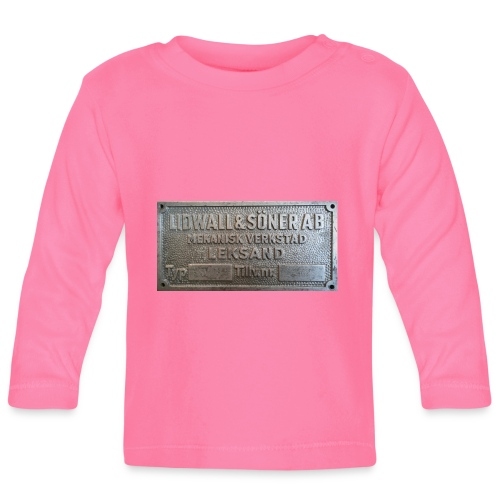 Tillverkningsskylt före 1967 - Långärmad T-shirt baby