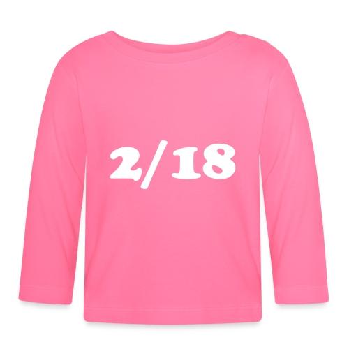 2/18 - Vauvan pitkähihainen paita
